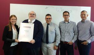 Auszeichnung für die WENZA EWIV:  geprüfter progros Partner
