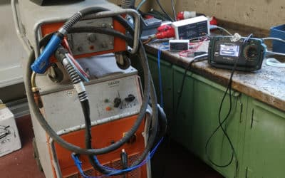 Elektrische Prüfung bei Lichtbogenschweißgeräten nach DIN EN 60974-4