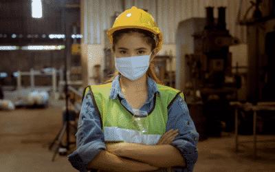 Kreative Lösungen für mehr Sicherheit in Industriebetrieben in Zeiten von Corona