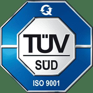 WENZA TÜV-Süd Zertifikat ISO 9001