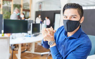 Medizinische Mund-Nasen-Schutzmasken bleiben eine wichtige Schutzmaßnahme vor Covid-19