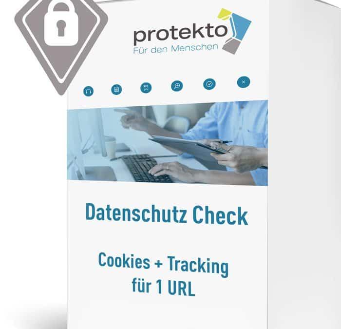 """Internet-Check """"Cookies + Tracking im Datenschutz"""""""