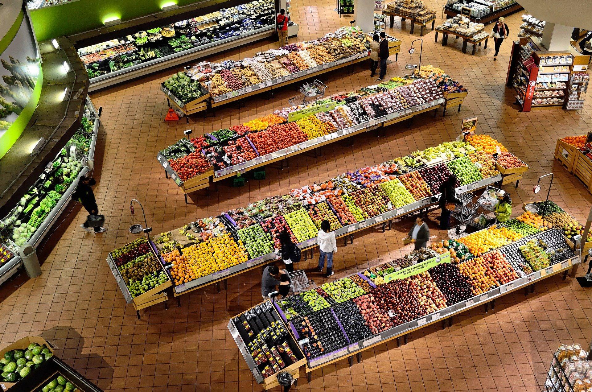 Infektionsrisiken im Lebensmitteleinzelhandel