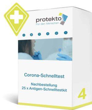 Corona - Antigentest - Schnelltest Nachbestellungen Protekto