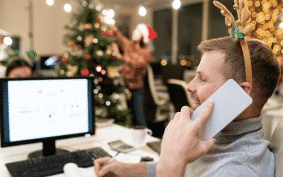 Elektrische Weihnachtsbeleuchtung im Büro: darauf sollten Sie achten!