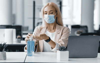 Corona und der Gesundheitsschutz am Arbeitsplatz:  Zwei Drittel der Arbeitnehmenden sind zufrieden