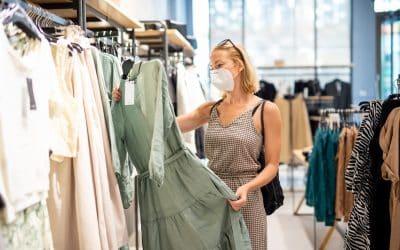 Studie zu Corona-Risiko im Einzelhandel