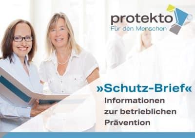 »Schutz-Brief«   04/2021 Im Fokus: Infektionsschutz und Impfung im Unternehmen