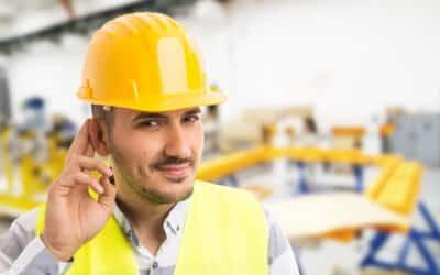 So belastend können Geräusche am Arbeitsplatz sein