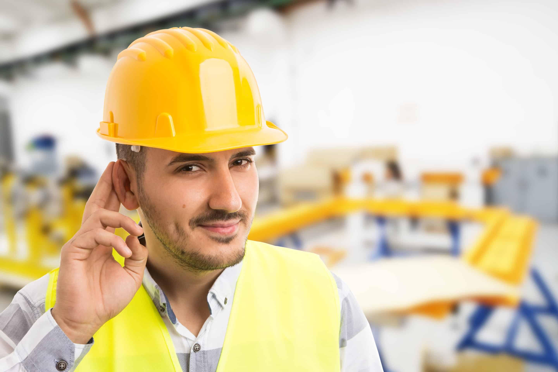 Geräusche am Arbeitsplatz