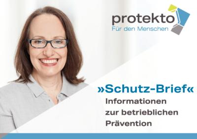 »Schutz-Brief«   05/2021  Im Fokus: Betriebliches Eingliederungs-Management Allgemeine Informationen »BEM«
