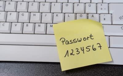 Passwort 123 – Die Mehrheit der Deutschen nutzt schwache Passwörter für mehrere Accounts