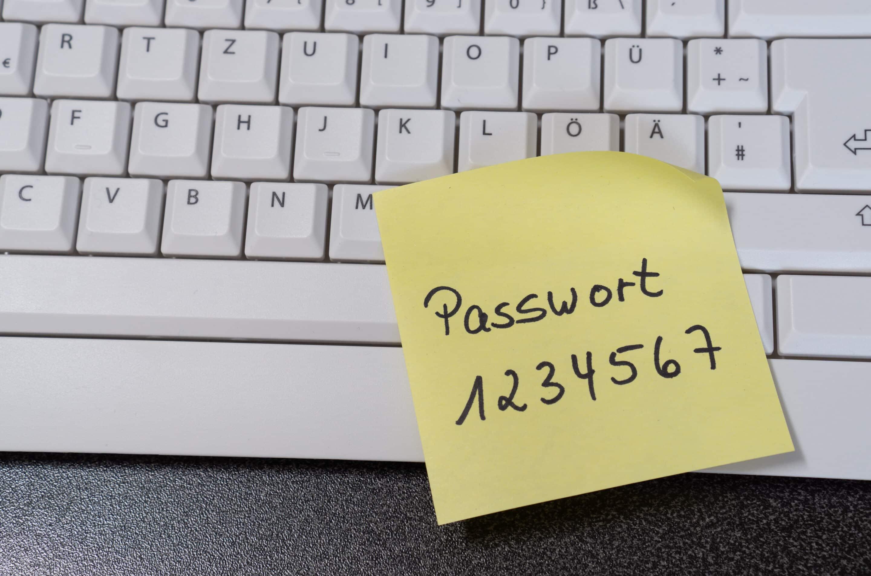 Einfaches Unsicheres Passwort