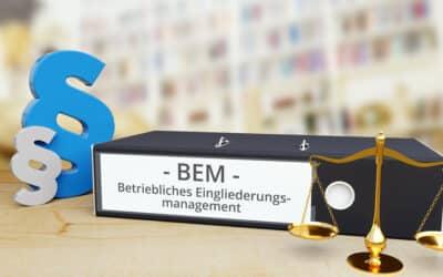 BEM – Betriebliches Eingliederungsmanagement: ordnungsgemäße Durchführung im Kündigungsschutzverfahren von großer Bedeutung